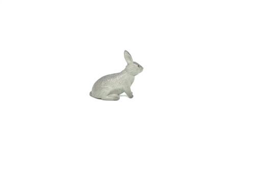 "Rabbit Gray  ~ Plastic Replica 1 3/8"" ~ F205-B9"