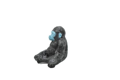 "Chimpanzee / Chimp Baby Sitting  ~ Plastic Replica  1 1/2"" ~ F427-B206"