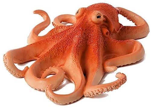 """Octopus plastic toy 6"""" M040-B637"""