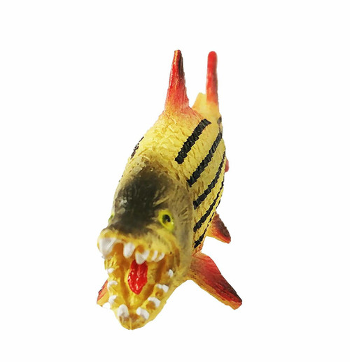 Tiger Fish 3 Inch Plastic Replica F01-B88