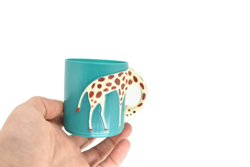 REAL CUP WITH GIRAFFE NECK!