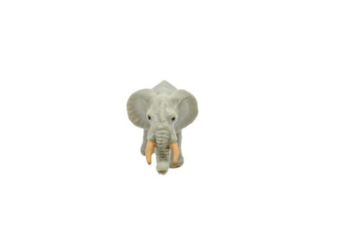 "Elephant, African Plastic Replica  2 1/2""  - F3542 B17"