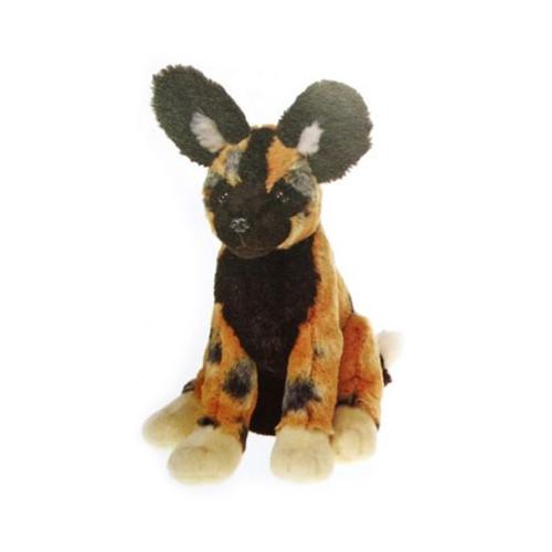 16c67f47d534 African Wild Dog Bean Bag Stuffed Animal 10 inches soft - F4327 B353