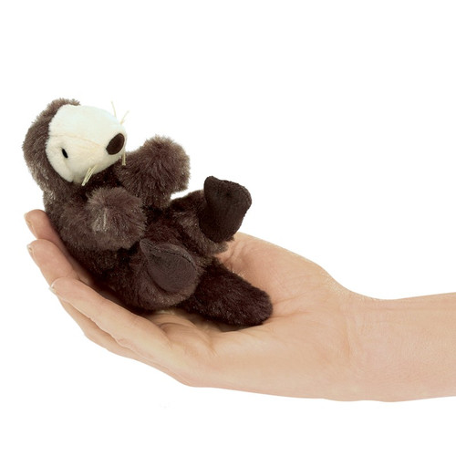 Sea Otter Finger Puppet - F012B57