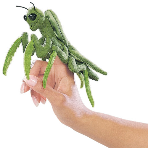 Praying Mantis Finger Puppet - F013B57