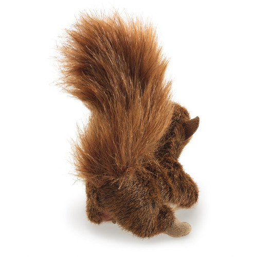 Red Squirrel Finger Puppet - F016B50