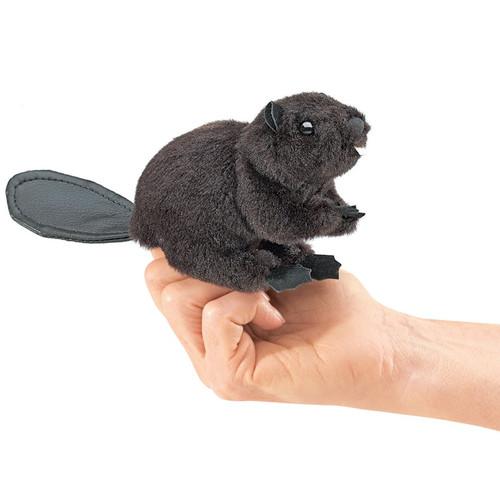 Beaver Finger Puppet - F017B50