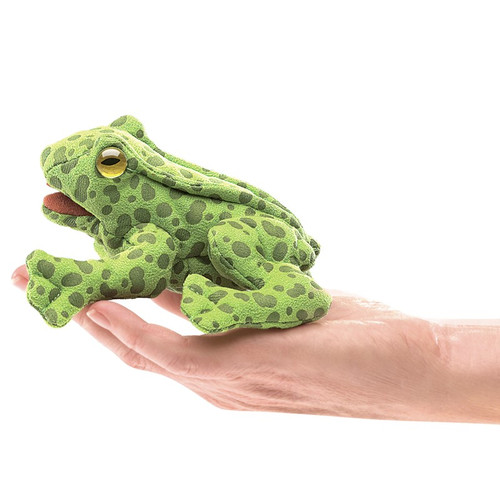 Frog Finger Puppet Plush - F010B57
