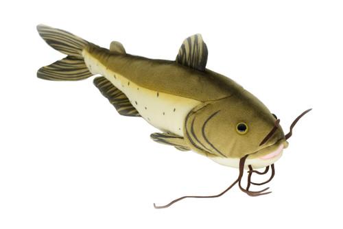Channel Catfish 10 Inch Stuffed Animal Fish - CWGF4605B491, $14.99