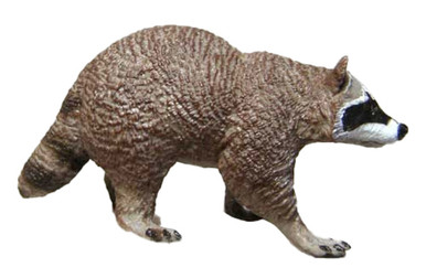 1 REAL RACCOON TAIL KEY CHAIN SMALL wild country animal raccoons keychain