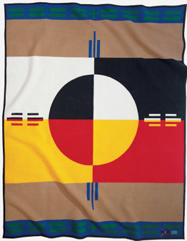 Pendleton Elders Circle of Life Blanket