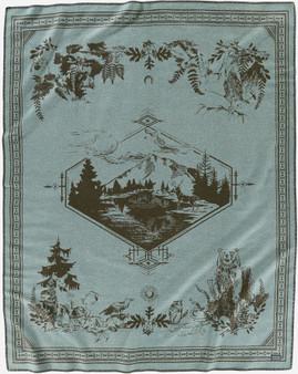 Pendleton Cloud Cap Mt. Hood Blanket