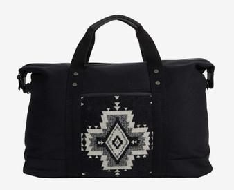 Pendleton Rock Point Black Weekender Bag