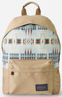 Pendleton Canopy Canvas Harding Aqua Backpack