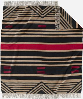 Pinyon Stripe Throw with Fringe