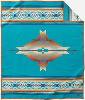 Pendleton Pagosa Springs Turquoise Blanket