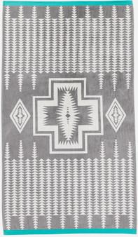 Pendleton Harding Grey Oversize Spa Towel