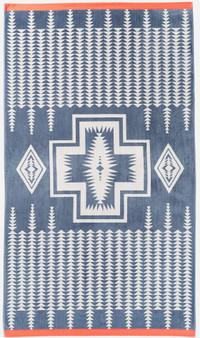 Pendleton Harding Slate Oversize Spa Towel