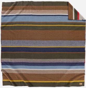 Pendleton Bridger Stripe Blanket Twin or Queen Size