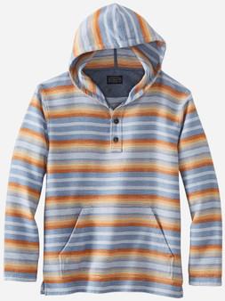 Pendleton Men's Blue Stripe Driftwood Hoodie
