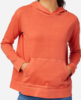 Pendleton Women's Deschutes Hoodie in Spiced Orange