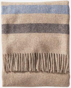Pendleton Eco-Wise Washable Wool Fawn Stripe Throw