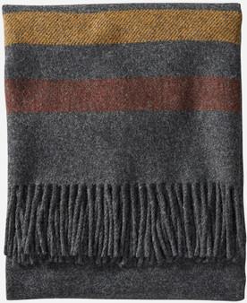 Pendleton Eco-Wise Washable Wool Oxford Stripe Throw