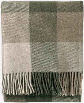 Pendleton Eco-Wise Washable Wool Fawn Juniper Plaid Throw