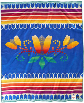 Pendleton Courage To Bloom Blanket American Indian College Fund