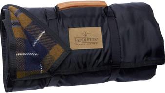 Pendleton Nylon Backed Douglas Tartan Roll-up Blanket