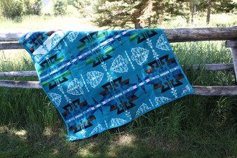 Pendleton Arrowhead Turquoise Blanket