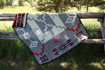 Babbitt Brothers Anniversary Storm Limited Edition Blanket by Pendleton Woolen Mills