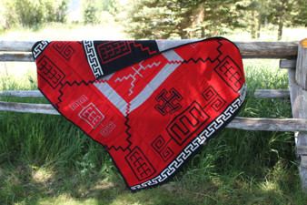 Babbitt Brothers Storm Red Limited Edition Blanket by Pendleton Woolen Mills