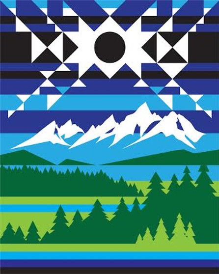 Pendleton Eclipse in Jackson Hole Blanket