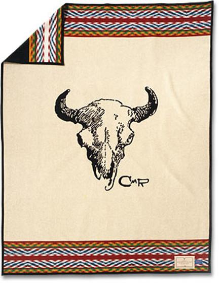 Charles M Russell Good Medicine Pendleton Wool blanket