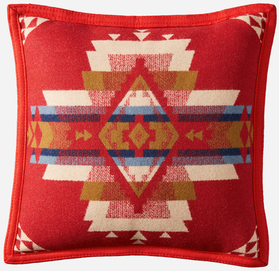 Pendleton Rock Point Scarlet Pillow