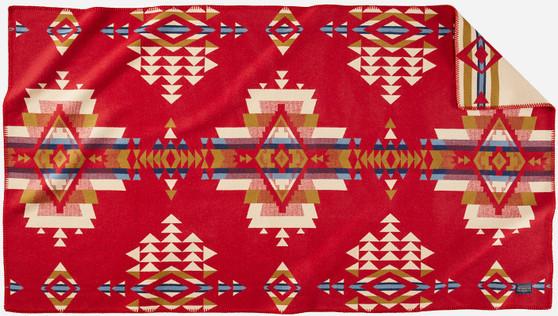 Pendleton Rock Point Red Saddle Blanket