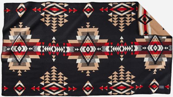 Pendleton Rock Point Black Saddle Blanket