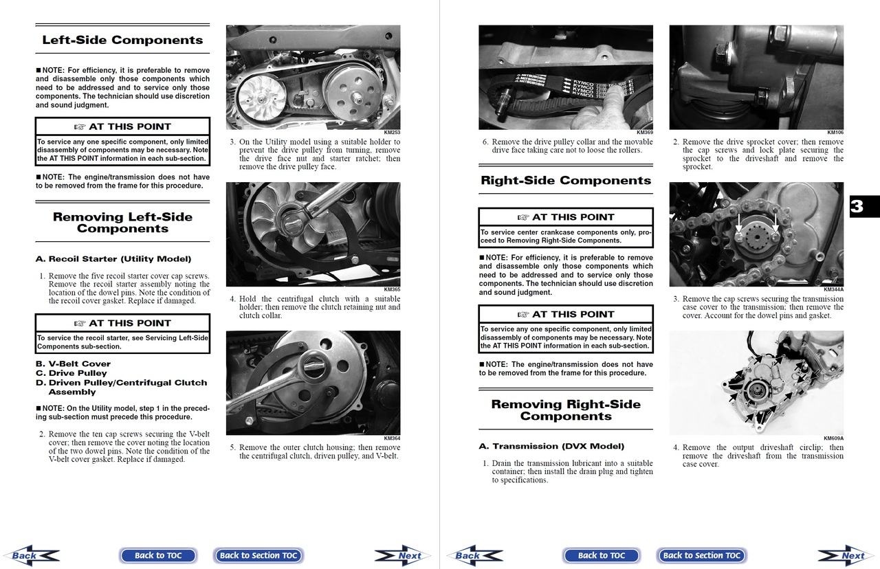 Arctic Cat 2006 Utility 250 Service Manual