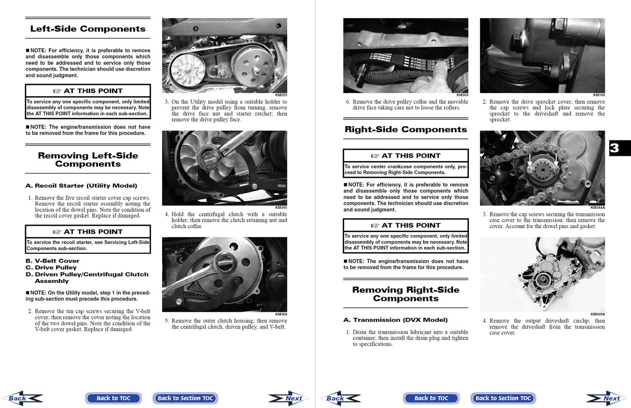 Arctic Cat 2006 ATV 250 2x4 Service Manual