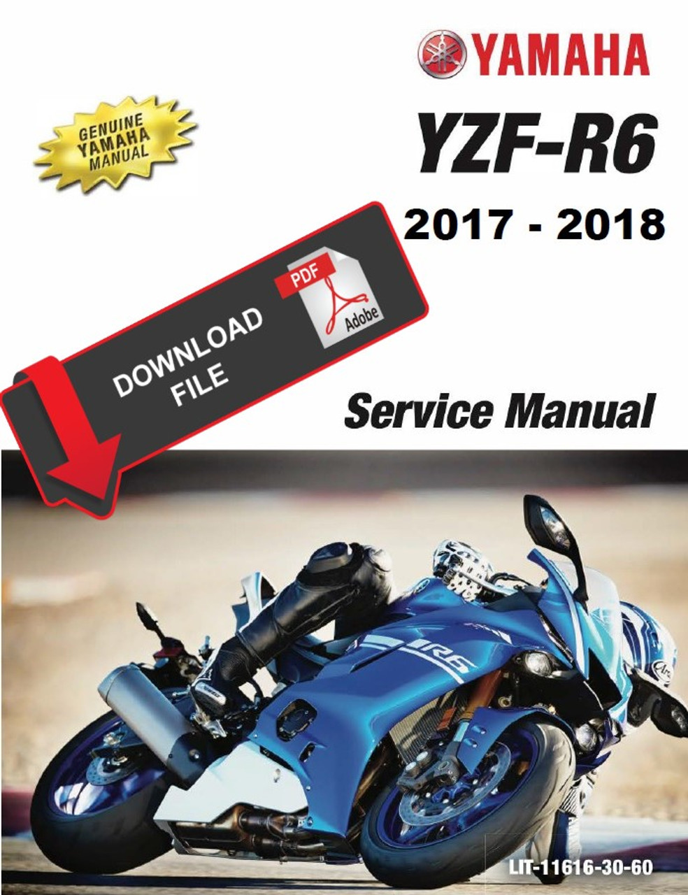 Yamaha 40 YZF R40 Service Manual