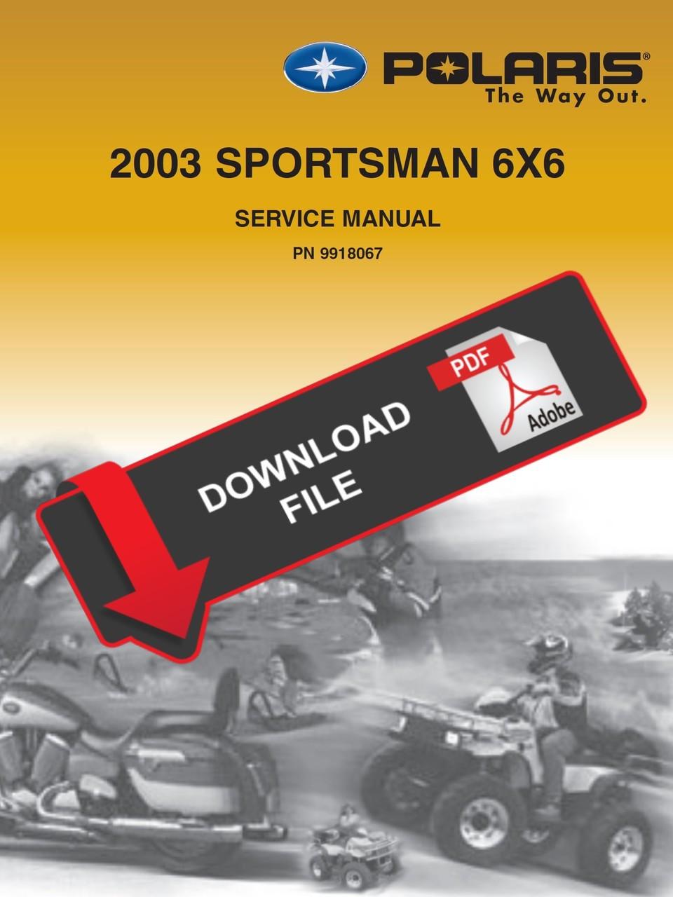 polaris magnum 425 6x6 manual
