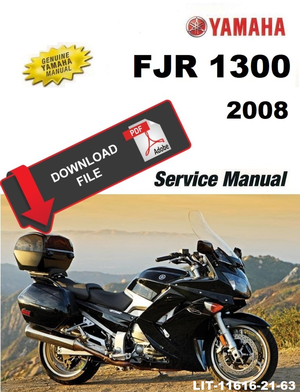 Yamaha 2008 Fjr1300 Service Manual