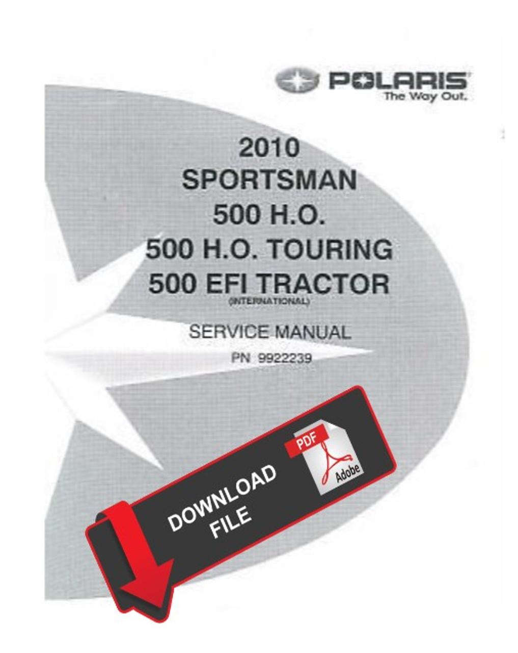 2010 polaris sportsman 500 wiring diagram polaris 2010 sportsman 500 h o atv service manual  sportsman 500 h o atv service manual
