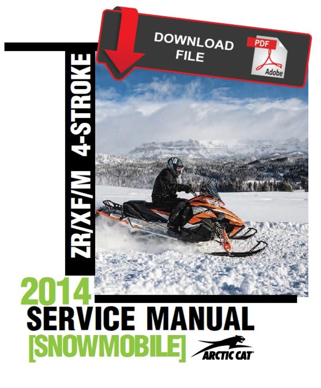 Arctic Cat 2015 ZR 7000 Sno Pro Service Manual