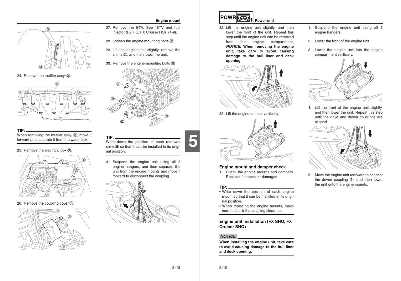Yamaha 2012 Waverunner FX Cruiser HO Service Manual