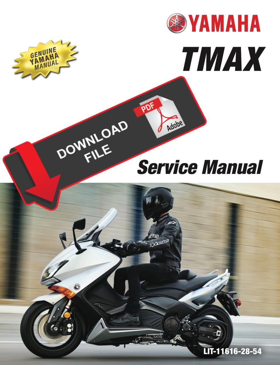 Yamaha 2016 Tmax 530 Service Manual