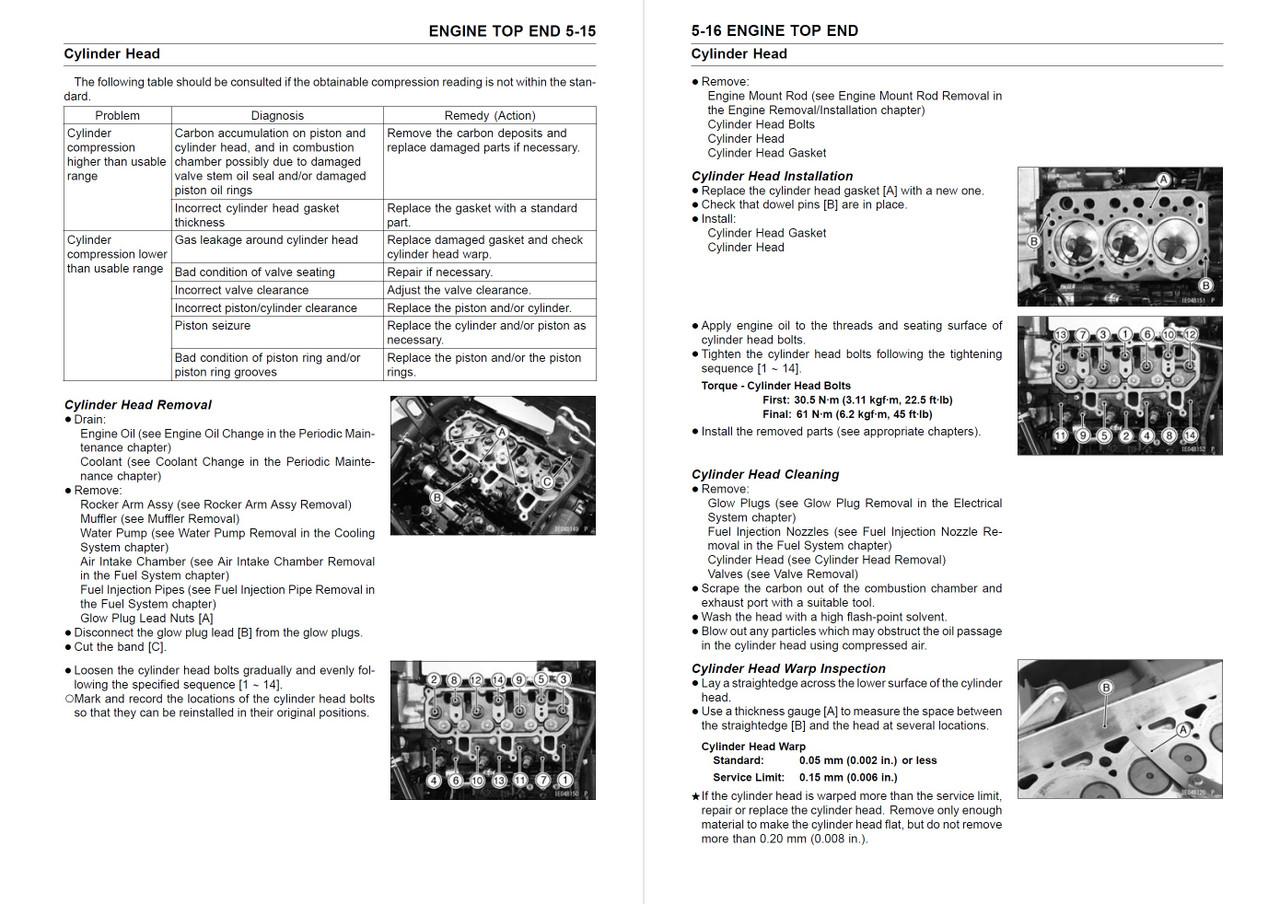 Kawasaki 2017 Mule Pro-DXT Diesel EPS Service Manual
