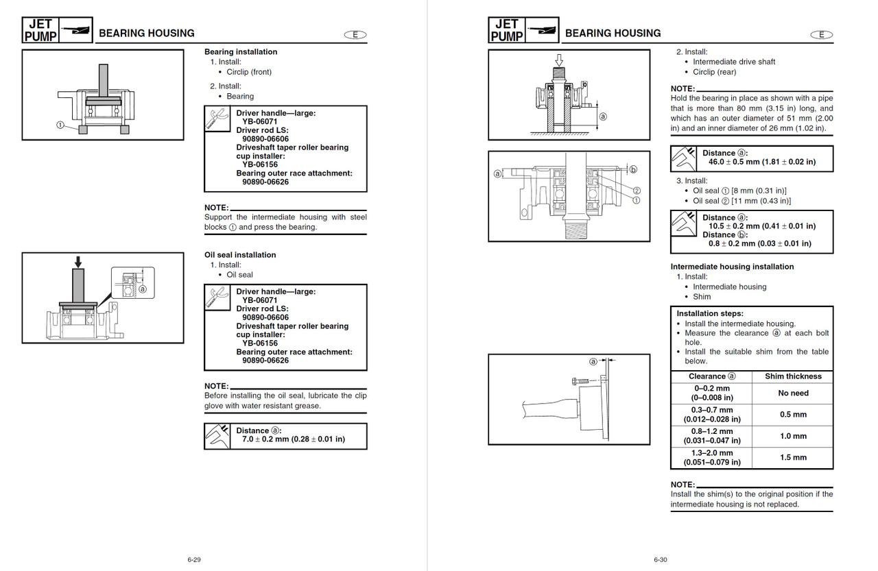 Yamaha 2004 Waverunner FX Cruiser HO Service Manual