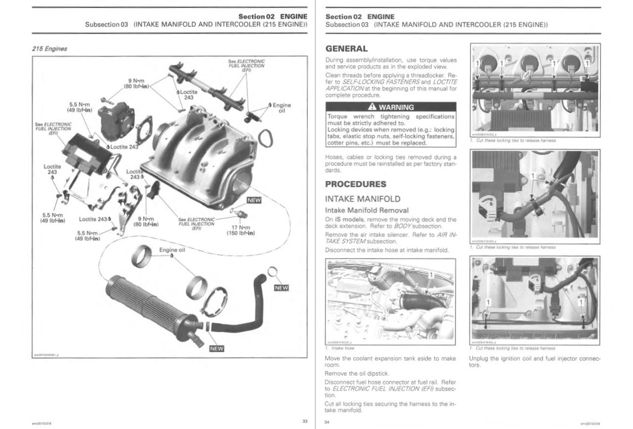 Sea-Doo 2010 GTX Jetski Personal Watercraft Service Manual